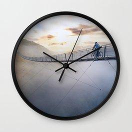 Life isn't always beautiful, but it's a beautiful ride Wall Clock