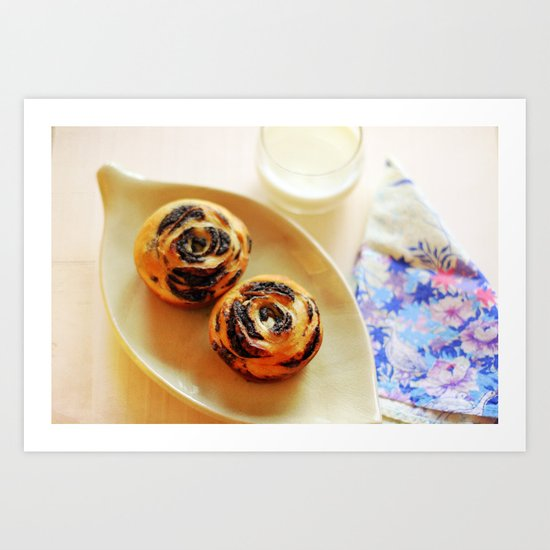 Think of something delicious... Art Print