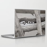 relax Laptop & iPad Skins featuring Relax by LebensART Photography