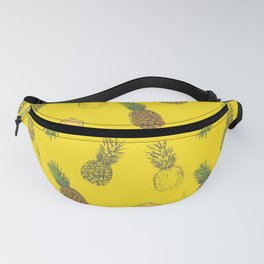 Pineapple Pattern Mask Fanny Pack