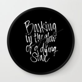 The Steven Hawking - Say Anything Wall Clock