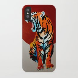 Tiger and Sun iPhone Case
