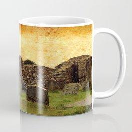 Ancient Irish Graveyard Ruins Coffee Mug