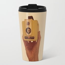 Yellow Brownie Travel Mug