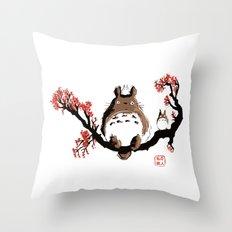 Mon voisin T. Throw Pillow