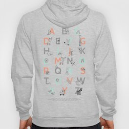 Animal Alphabet Hoody