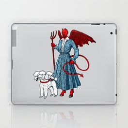 Devil With A Blue Dress On Laptop & iPad Skin