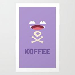 Koffee Art Print