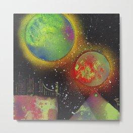 Moons over Arcturus Prime Metal Print
