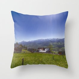 Tatra Mountains. Throw Pillow