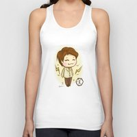 exo Tank Tops featuring Pathcode EXO - Chen by Minnie Dreamer