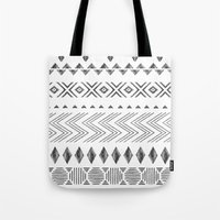 nordic Tote Bags featuring NORDIC by Annet Weelink Design