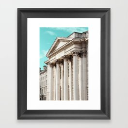 Shapes of Dublin Framed Art Print