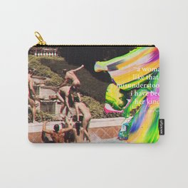HER KIND Anne Sexton quote #2 Carry-All Pouch