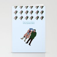 eternal sunshine of the spotless mind Stationery Cards featuring Eternal Sunshine of the Spotless Mind by bonieiji