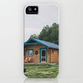 Moose Cabin iPhone Case