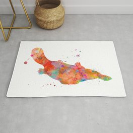 Colorful Platypus Rug