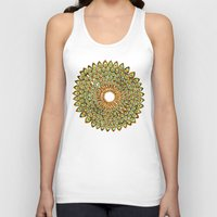 70s Tank Tops featuring Peacock Mandala – 70s Palette by Cat Coquillette