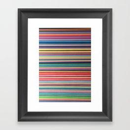 STRIPES 37 Framed Art Print