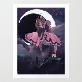 CC.Sakura : The Thunder Art Print