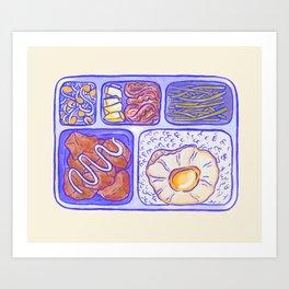 Lunch box Art Print