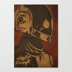 Daft Punk Guy-Manuel II Canvas Print