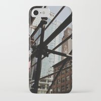 theater iPhone & iPod Cases featuring Chicago Theater by Shawn Thompson