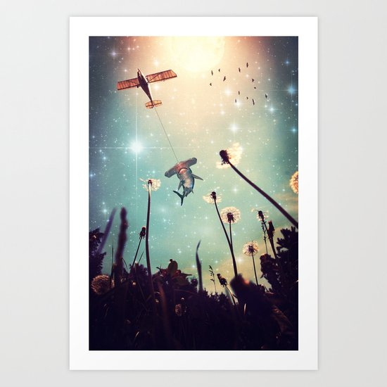 Flying Lessons Art Print