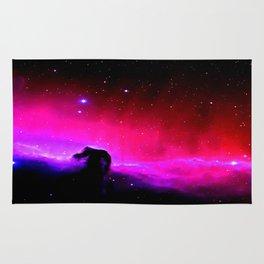 Galaxy : Horsehead nEbUlA Pink Red Purple Rug