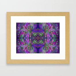 Points II Framed Art Print