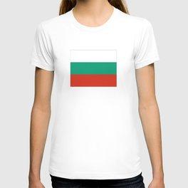 flag of bulgaria -bulgarian, България,български,slav,cyrillic,Sofia,bulgaria T-shirt