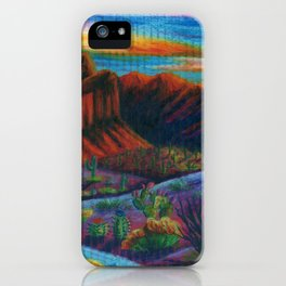 Sonoran Desert Landscpae iPhone Case