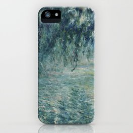 Morning on the Seine - Claude Monet iPhone Case