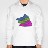 sneakers Hoodies featuring Colorful sneakers by YTRKMR