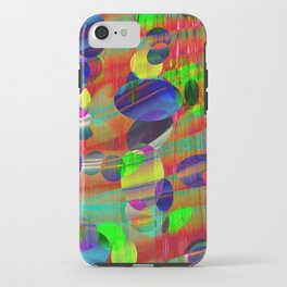 Dots and Curves iPhone Case