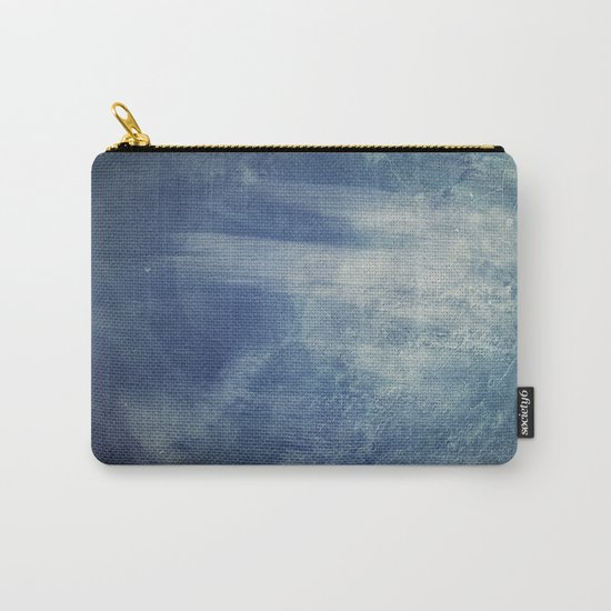 texture bleue Carry-All Pouch
