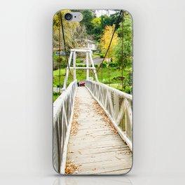 Warburton Swing Bridge, Victoria iPhone Skin