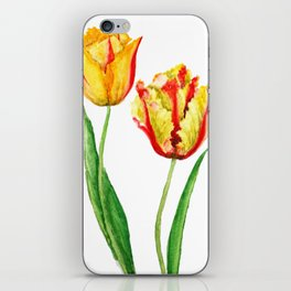 two tulips iPhone Skin