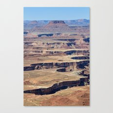 Green River Overlook Canvas Print