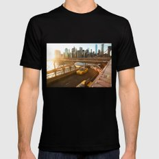 After The Gold Rush Black Mens Fitted Tee SMALL