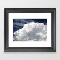 Cumulus Clouds Framed Art Print