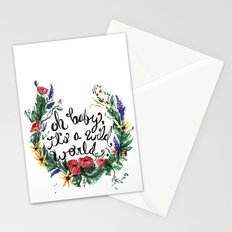 Wild World Stationery Cards