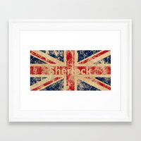 british flag Framed Art Prints featuring British Flag by StudioTwentyTwo