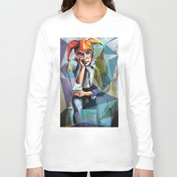 neon Long Sleeve T-shirts featuring Neon by Urban Artist