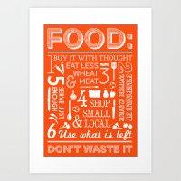 Food - tomato Art Print