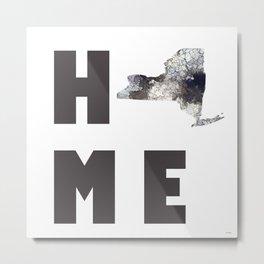 """New York """"HOME"""" Metal Print"""