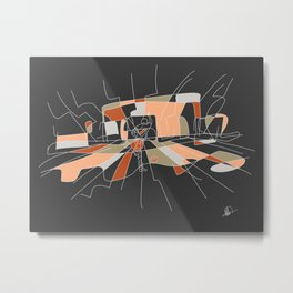 Close Perspective Metal Print