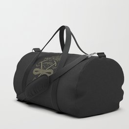 Hiking motivational quote Duffle Bag