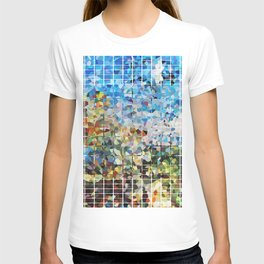 Modern Geometrical Colorful Squares - Art By Sharon Cummings T-shirt