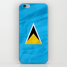 Saint Lucia - North America Flags iPhone Skin